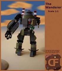 The Wanderer (Dead Frog inc.) Tags: fiction robot lego hard science suit scifi fi destroyed sci mecha apocalyptic maschine krieger moc maschinen hardsuit exosuit postapoc maschinekrieger