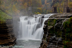 Letchworth Falls 1 (RSpechtphotography) Tags: longexposure newyork fall water river letchworth letchworthstatepark newyorkstate watefall ringexcellence dblringexcellence tplringexcellence ca1rob inspiringcreativeminds