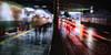 passers-by・つうかびと (SandoCap) Tags: lighting street people urban cars rain japan architecture night umbrella lights tokyo shinjuku neon cityscape homeless tunnel 日本 fujifilm 東京 夜景 道路 人物 新宿 建物 mil 傘 トンネル 雨 ネオン ホームレス xe1 都会 ストリート 都会風景 xe1fujinonxf1855mm