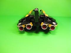Blacktron Aggressor V2 (DJ Quest) Tags: lego vic viper blacktron