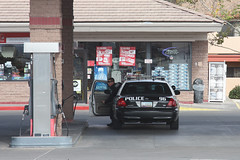 Aquafina (twm1340) Tags: arizona ford car giant leo police az victoria gas pump cop cottonwood vic crown petrol gasoline officer fuel interceptor 17nov2013