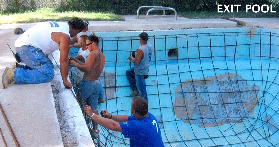 Exit pool