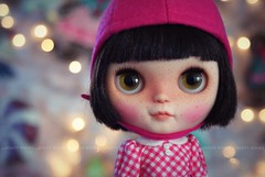 A Doll A Day. Dec 13. Waffles and Maple Syrup.