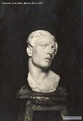 Edmondo Prati Busto Marmo Brera 1935