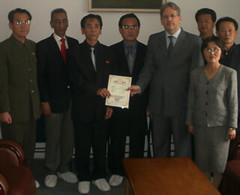 The first Pharma Company in North Korea to achieve international quality standards. Read more here: (Felix Abt) Tags: who drugs gmp northkorea pharma dprk pyongsu felixabt pharmaceuticaals