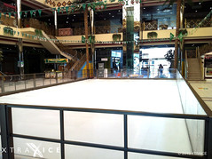 Synthetic ice rink in Saudi Arabia (XTRAICE) Tags: christmas winter ice skating artificial skaters entertainment saudi arabia rink barriers synthetic ecological tabuk xtraice