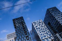 Barcode district in Oslo (Erik Furulund) Tags: vacation oslo architecture canon dark photography photo officebuildings crap 7d barcode mad mvrdv snøhetta alab arkitekter bjørvika as kynnberget sjarkitekter erikfurulund