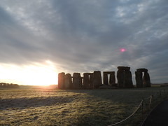 Sunrise at Stonehenge: Red sky in the morning. (The Stonehenge Stone Circle Website.) Tags: red sky sunrise bucket list stonehenge access wiltshire tours