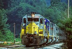 CSX 8339 Altapass, NC (Vince Hammel Jr) Tags: railroad trains csx clinchfield altapass