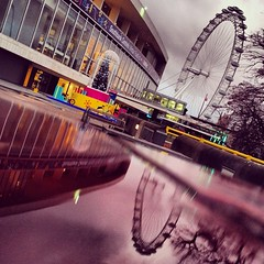 more of the same...perfect puddles (auketts) Tags: london eye valencia square puddle londoneye squareformat rfh mywalktowork iphoneography instagramapp uploaded:by=instagram foursquare:venue=4ac518e9f964a520bdab20e3 puddlegram
