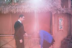Cindy and Onnik | Engagement shoot (chris.alcoran) Tags: california lighting portrait color colors canon photography engagement couple photoshoot who disneyland disney adventure doctor cinderella tardis dca paperman 6d