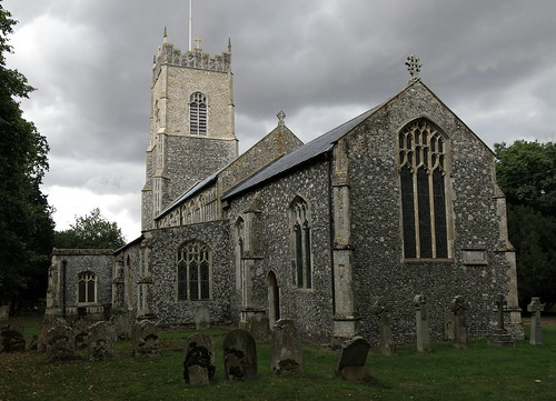 The Church of St Mary, Wilby, Suffolk, England