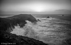 Stormy Seas #7 (WanderlustrePhoto) Tags: ocean sea cliff storm surf waves hercules bigwave