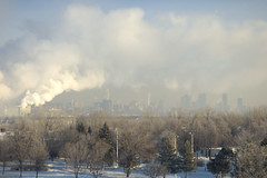 montreal pollution clouds4 (Lou Musacchio) Tags: canada quebec montreal pollution moderntimes fossilfuels toxicsky manmadeclouds