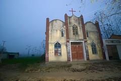 Gian Zhou ochtend (Frans Schellekens) Tags: china church countryside cross religion churches kerk gebouw anhui kruis platteland religie kerken