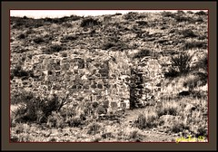 Fort Bowie AZ 1997 (the Gallopping Geezer 3.6 million + views....) Tags: park arizona abandoned wall museum canon bowie ruins war closed display fort decay military indian battle historic faded adobe vacant worn 1997 weathered walls decayed geezer corel