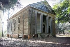 Adams Grove Presbyterian Church (SouthernHippie) Tags: old history abandoned church rural south alabama greekrevival dallascounty precivilwar segregated adamsgrove