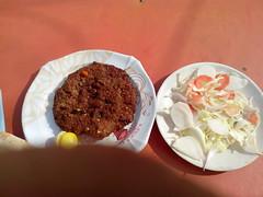 Near IIUI Campus Islamabad Pakistan (Four Wanderers) Tags: life pakistan food campus salad great fresh wanderers sir wanderer dhaba admirer islamabad dhabba chappal kebaab iiui kabuli