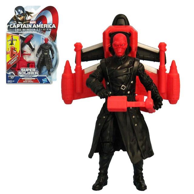 Hasbro 孩之寶玩具 3.75吋 紅骷髏