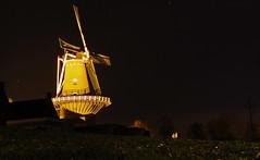 Diligence (Nils van Rooijen) Tags: mill netherlands grass night dark de town village wind maas brabant ravestein nijverheid
