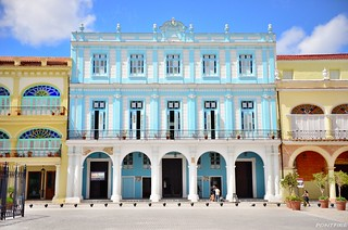 Cuba . La Habana . Plaza Vieja
