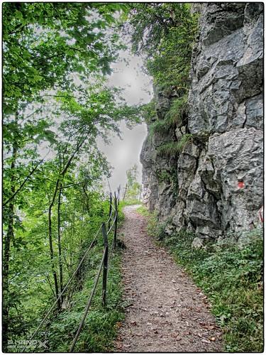 """Wandersteig in der """"Ewigen Wand"""" (1)"""