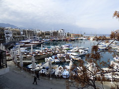 Girne - harbour view