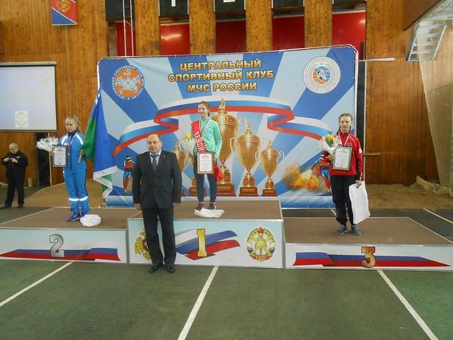 Саратовская спортсменка установила рекорд насоревнованиях МЧС