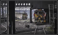 Hot Hunslets (Jim the Joker) Tags: hunslet bobo dieselshunter 70 71 torpedo moltensteel scunthorpesteelworks freight railway train