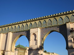 Detail of Bab Moulay Ismail, gate in Meknes, Morocco (Paul McClure DC) Tags: meknes morocco almaghrib jan2017 meknès historic architecture