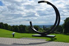 Bernar Venet (RarOiseau) Tags: quebec canada inexplore paysage parc sculpture musée v5000