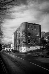 Cotham Lawn Road (pixelhut) Tags: bristol uk england southwest city urban blackandwhite monochrome architecture