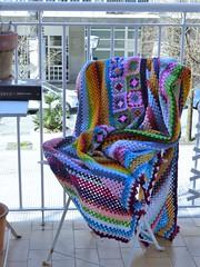 MANTA DE GANCHILLO (el.gallinero) Tags: manta mantadeganchillo crochet hechoamano manualidades lana colores handmade grannys
