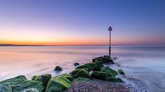 Perfect Day (nicklucas2) Tags: seascape beach groyne sea seaside solent pebble avonbeach