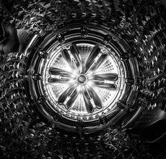 Bright Spot (llabe) Tags: abstract metal machine highcontrast blackandwhite monotone nikon d750