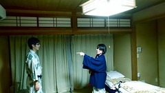 pointers (troutfactory) Tags: fluorescentlight friends pointing yukata 氷見市 himi 日本 japan asuszenfone3 cameraphone phonephotography digital
