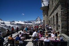 Lunch with a View (AGrinberg) Tags: switzerland 1902065 kulmhotel hotel gornergrat lunch