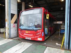 GAL SE156 - YX61DVF - PM PECKHAM BUS GARAGE - WED 29TH MAR 2017 (Bexleybus) Tags: goahead go ahead london peckham pm bus garage south east adl dennis enviro 200 tfl route p12 se156 yx61dvf