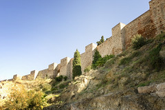 Alcazar Wall of Malaga (rschnaible) Tags: alcazar malaga spain espana europe building architecture old history historic sightseeing tour tourist wall fort fortress