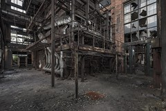Old Coke Works (Camera_Shy.) Tags: derelict abandoned urban exploration tresspassing exploring industrial abandonment disused old uscine rotten rusty industry decayed ue nikon d810 urbex europe belgium