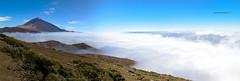Marea blanca (White tide) (Stilnados) Tags: teide mountain tenerife canarias panoramica clouds tamron1530 canon600d
