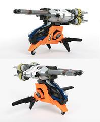 Hokkien jumper (Adrian Florea) Tags: spaceship lego moc cray