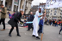 Feat of the day: having pulled a unicorn's tail (Red Cathedral uses albums) Tags: sony a6000 cosplay larp eventcoverage sonyalpha mirrorless alpha brussel bruxellesmabelle bifff zombifffparade zombifffday brusselsinternationalfestivaloffantasticfilm zombie zombieparade zombiewalk undead thewalkingdead twd blood gore horror eerie