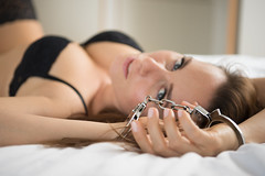 Shackles (Colorless_Opal) Tags: model sexy nude lingerie german shackles bdsm sm shades grey