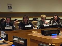 Wizyta w ONZ, na 61. sesji Komisji Statusu Kobiet