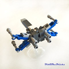 Xwing episode 7 - back (did b) Tags: xwing starwars moc microscale lego legomoc legocreation legodesign