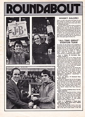 Everton vs Manchester United - 1977 - Page 6 (The Sky Strikers) Tags: everton manchester united football league divsion one goodison park programme 15p