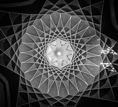 Psy (\Nicolas/) Tags: geometry roof cupola black white bc