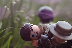 P.O.W. (lego slayer) Tags: purple vietnam lego legos special forces rescue pilot aircraft smoke