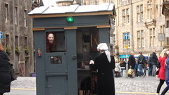 DSCF9308 (ianharrywebb) Tags: iansdigitalphotos edinburgh scotland policebox
